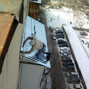 Ремонт балконной крыши(козырька из профнастила) Алматы,  в Алматы