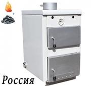 Котел Гефест КС-ТГВ-25 газ-уголь с открытой камерой сгорания (с горяче