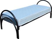 Трехярусные металлические кровати для студентов оптом от производителя