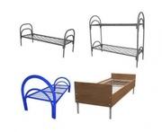 Двухъярусные металлические кровати для студентов,  школ,  интернатов.