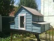 Продаем готовые курятники для куриц в Алматы