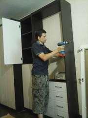 сборка -разборка,  ремонт мебели в Алматы