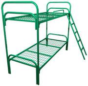 Кровати металлические для бытовок,  кровати трёхъярусные для рабочих