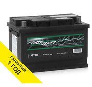 Аккумулятор Gigawatt (Германия) 74ah с доставкой