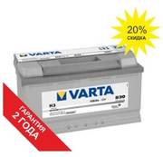 Аккумуляторы Varta 100 Ah в Алматы. Цены снижены!