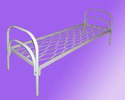 Двухъярусные железные кровати,  для казарм,  кровати с ДСП спинкой