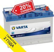 Аккумулятор VARTA (Германия) 95Ah для Mitsubishi Delica 2.8D