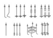 Анкерные фундаментные болты Тип 3.1 3.2