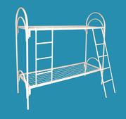 Трёхъярусные металлические кровати для общежитий,  оптовая цена