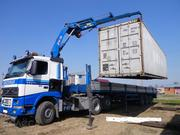 Услуги манипулятора,  перевезем 40 т контейнера в Алматы