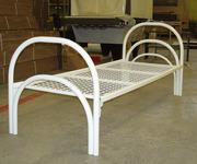 Кровати для общежитий металлические и ДСП одноярусные и двухъярусные