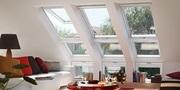 Нижние элементы и карнизные мансардные окна VELUX Кокшетау