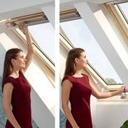 Мансардные окна VELUX OPTIMA с двумя ручками