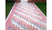 Укладка брусчатки,  тротуарной плитки