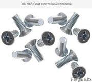 DIN 965 Винт с потайной головкой