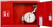 Шкаф пожарный для 1 рукава и 2х огнетушителей